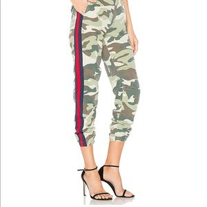 MOTHER The No Zip Misfit Pant in Double Time Camo